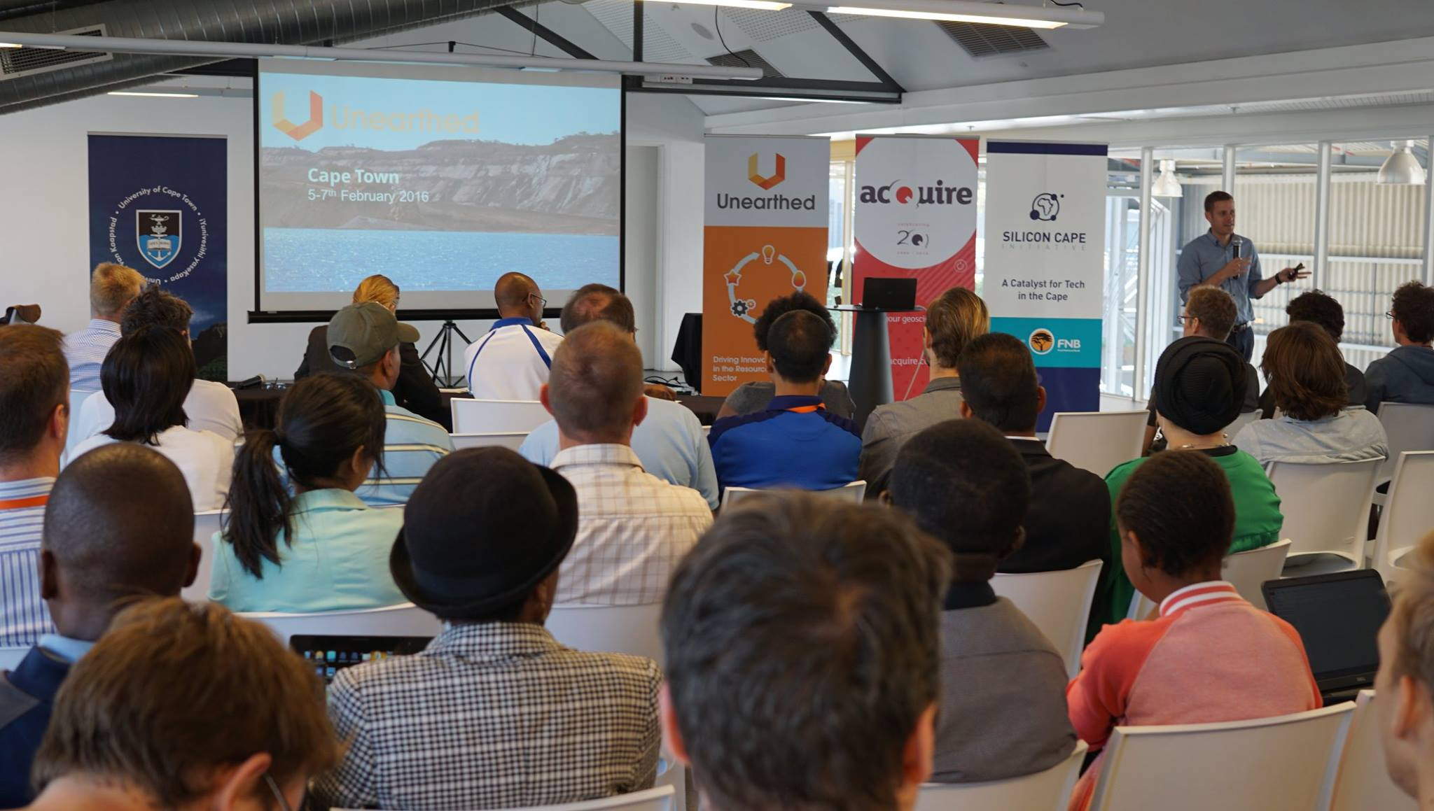 The first Unearthed Hackathon in Cape Town