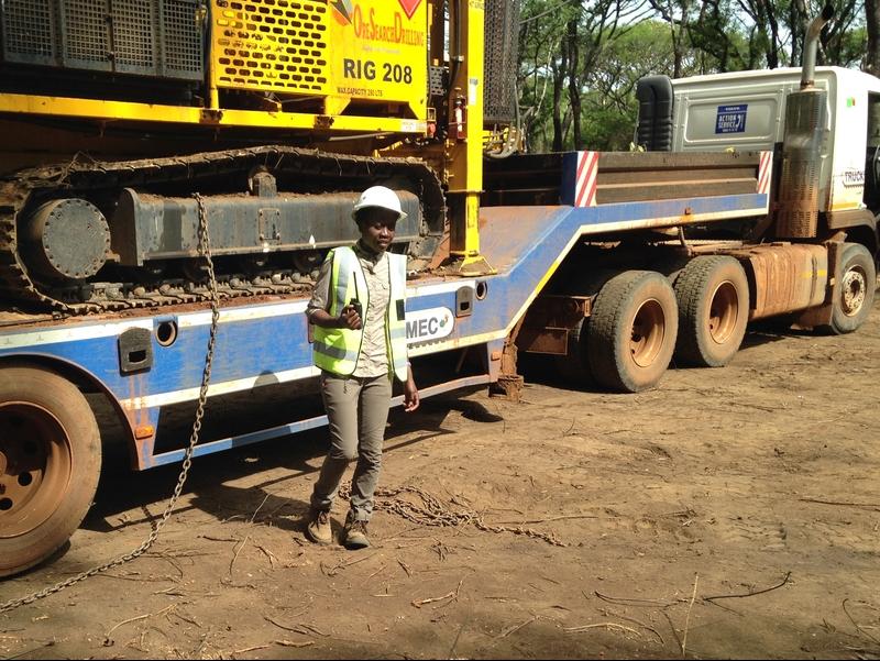 MPhil student in sustainable mineral development Kabang'u Sakuwaha is a geoscientist working in mineral exploration in Zambia who has received an African Development Bank grant.