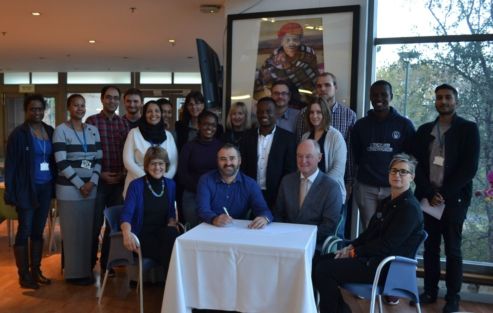 Collaboration established between HZDR and UCT